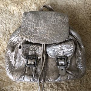 Anat Marin silver backpack